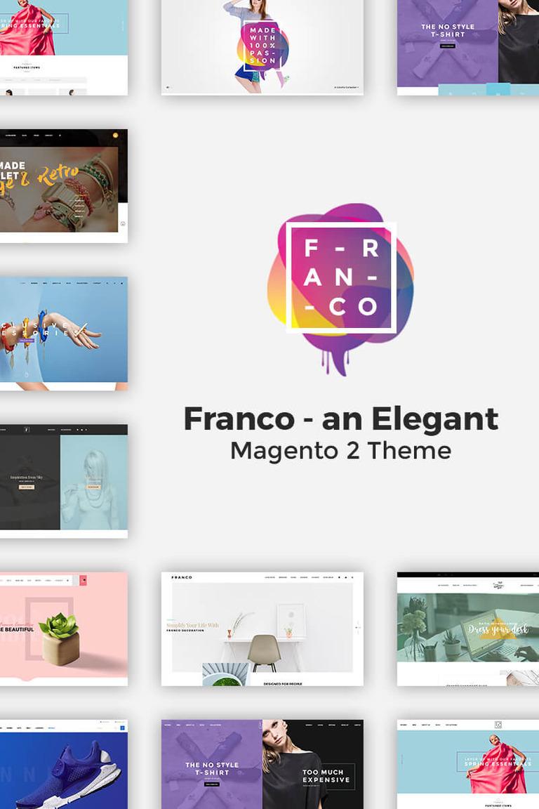 Franco - Elegant 2 and 1 Magento Theme