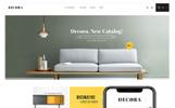 Tema de PrestaShop para Sitio de Decoración del hogar