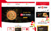 "PrestaShop Theme namens ""Fast Food"" Großer Screenshot"