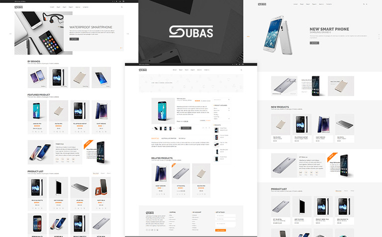 Subas - Electronics store Shopify Theme