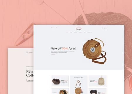 Nokshi - Handmade Crafts eCommerce