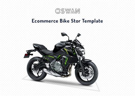 Oswan - eCommerce Bike Store