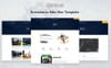 "Website Vorlage namens ""Oswan - eCommerce Bike Store"" Großer Screenshot"
