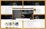 """Trust – Nonprofit Charity"" Responsive Website template"