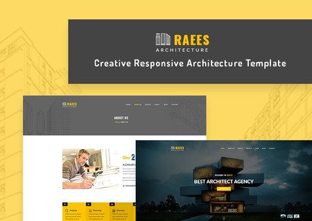 Raees - Responsive Architecture / Architect