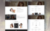 Aerial - Wedding Photography Website Template Big Screenshot