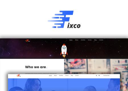 Fixco - Multipurpose Bootstrap4