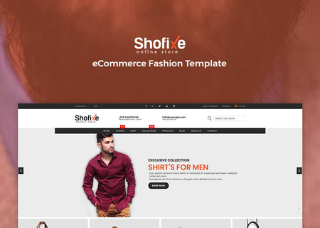 Shofixe - eCommerce Fashion