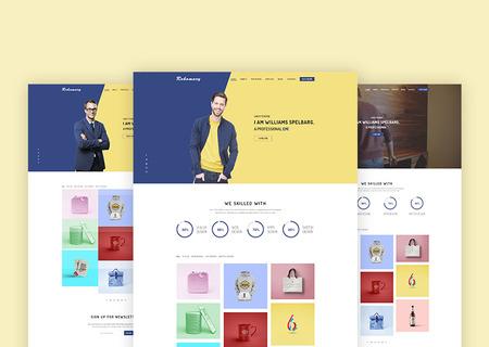 Rokomary - Creative Portfolio Bootstrap4