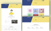 "Website Vorlage namens ""Rokomary - Creative Portfolio Bootstrap4"" Großer Screenshot"