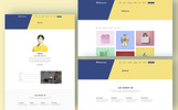 "Website Vorlage namens ""Rokomary - Creative Portfolio Bootstrap4"""