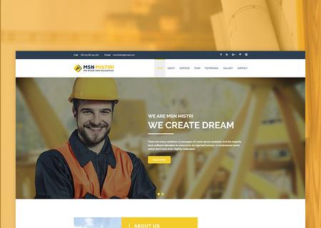 Msn Mistiri - Construction
