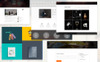 Bizniz – Creative Agency Website Template Big Screenshot