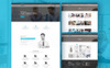 Conjoint - Corporate Website Template Big Screenshot