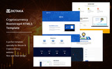 Dgtaka - CryptoCurrency Website Template