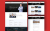 The-Politicn - Political Website Template Big Screenshot