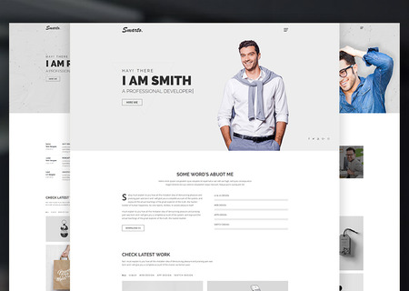 Smarto - Creative Portfolio