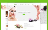 "Website Vorlage namens ""Beautyhouse - Health & Beauty"""