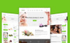 "Modello Siti Web Responsive #69065 ""Beautyhouse - Health & Beauty"" Screenshot grande"