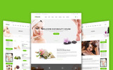 "Modello Siti Web Responsive #69065 ""Beautyhouse - Health & Beauty"""