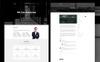 """Шаблон посадочной страницы """"Adsunt - One Page Portfolio"""" Большой скриншот"""