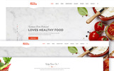 Resta - Responsive Restaurant Website Template
