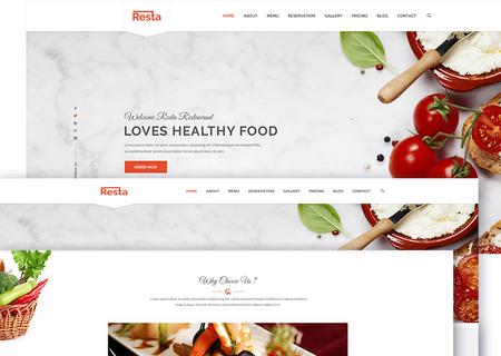 Resta - Responsive Restaurant