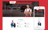 Carspa - Car Wash Website Template Big Screenshot
