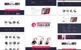 Responsivt Tinker - Best Car Repairing Hemsidemall