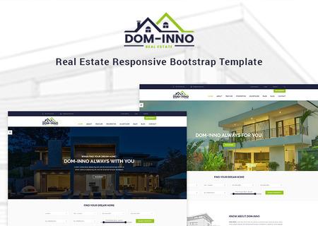 Dominno - Real Estate Responsive