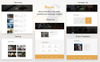 Filmudio - Movie Production, Film Studio & Entertainment Website Template Big Screenshot