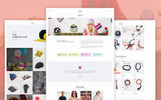 "Shopify Theme namens ""Nokshi - Handmade & Craft"""