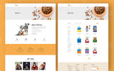 Responsive PetFood - Pet Sitter, Shop, Animal Care Shopify Teması