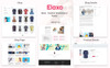 "WooCommerce Theme namens ""Elaxo - Fashion"" Großer Screenshot"