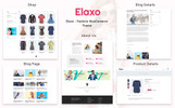 "WooCommerce Theme namens ""Elaxo - Fashion"""