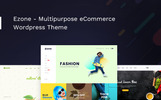 "WooCommerce Theme namens ""Ezone - Multipurpose"""