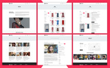 Responsywny motyw WooCommerce Charming - Fashion #70844