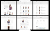 Tema Shopify para Sitio de Tienda de Ropa Captura de Pantalla Grande