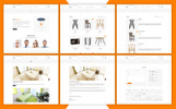 "Modello Shopify Responsive #71123 ""Furnir - Furniture"""