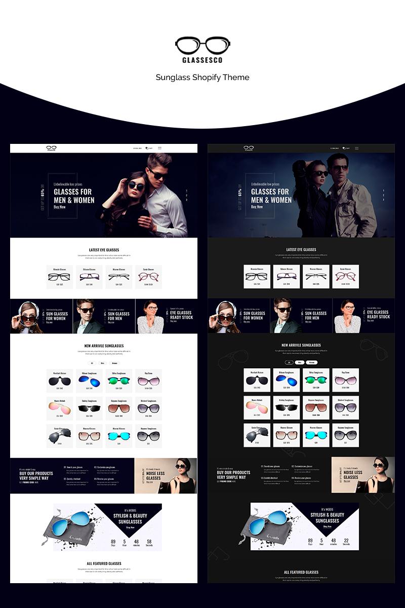 Glassesco - Goggles Shop Shopify Theme