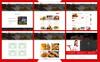 Tema Shopify para Sitio de Restaurantes de comida rápida Captura de Pantalla Grande