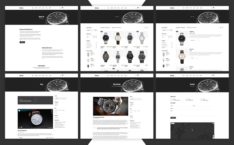 Watchin - Watch eCommerce Shopify Theme