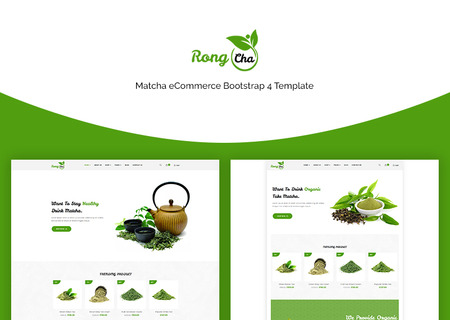 Rongcha - Matcha Bootstrap4