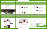 Plantilla Web para Sitio de Tienda de Té