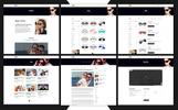 Responsywny szablon strony www Glassesco - Glasses eCommerce Bootstrap4 #71147
