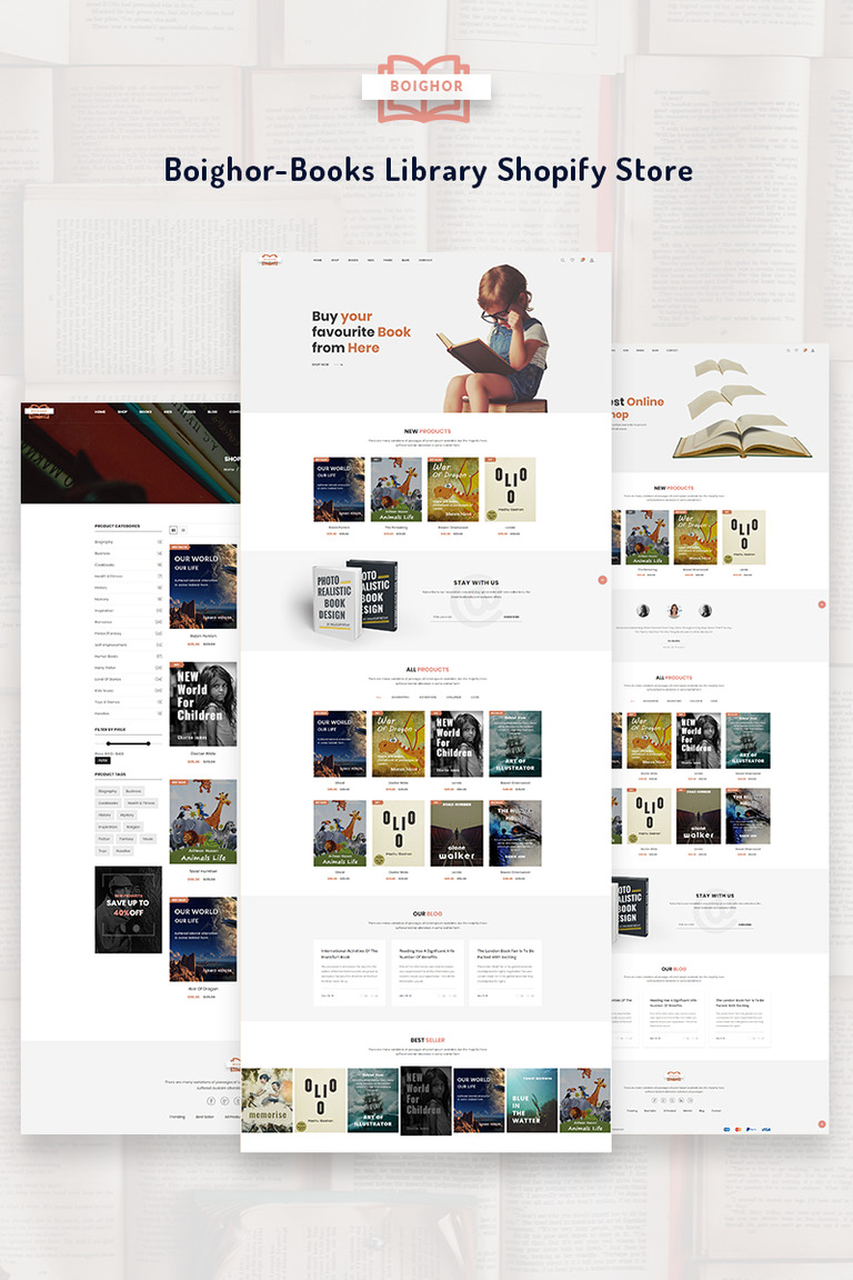 shopify ecommerce templates.html