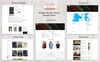 "Shopify Theme namens ""Boighor - Books Library"" Großer Screenshot"