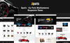 "WooCommerce Theme namens ""Gparts - Car Parts Responsive"" Großer Screenshot"