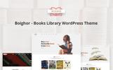 """Boighor - Books Library"" 响应式WooCommerce模板"