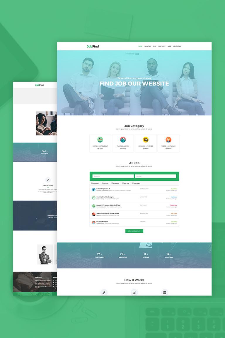 JobFind - Job Board WordPress Theme